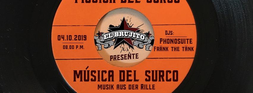 04.10.19 – Música del surco – Musik aus der Rille – Phonosuite & Fränk the Tänk