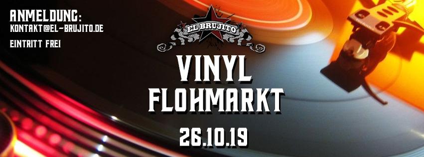 26.10.19 – Vinyl Nachtflohmarkt